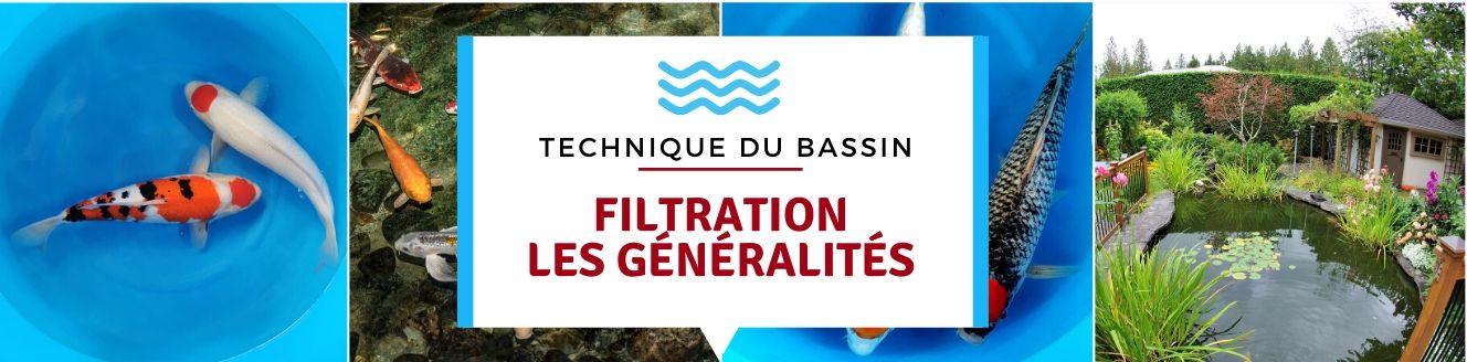 Filtration : les généralités