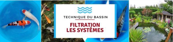 Filtration (2/2) : filtre à ruissellement, filtres à chambres etc