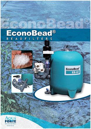 Econobead filtre pour bassin carpe koi, bassin , filtre biologique