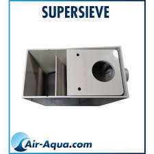 Filtre à grille bassin Supersieve, filtre mécanique bassin, bassin carpe koi