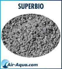 Superbio Air Aqua média pour filtre bassin
