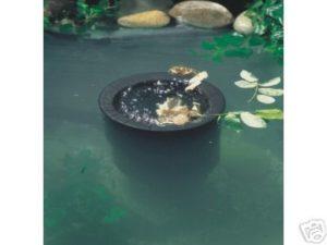 Skimmer flottant pour bassin carpe koi, filtration bassin,carpe koi