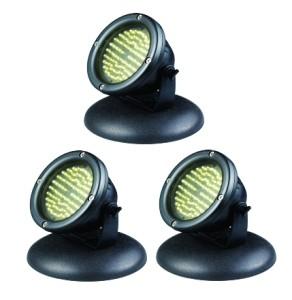 Lampe 60 LED ETANCHE x 3, bassin, carpe koi