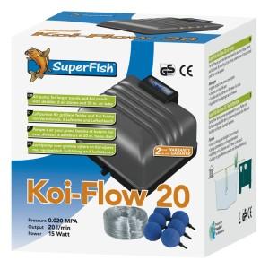 Superfish koi flow pompe à air