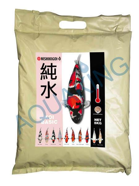 Nishikigoi o basic aliment pour carpe koi 15kg for Nourriture carpe koi