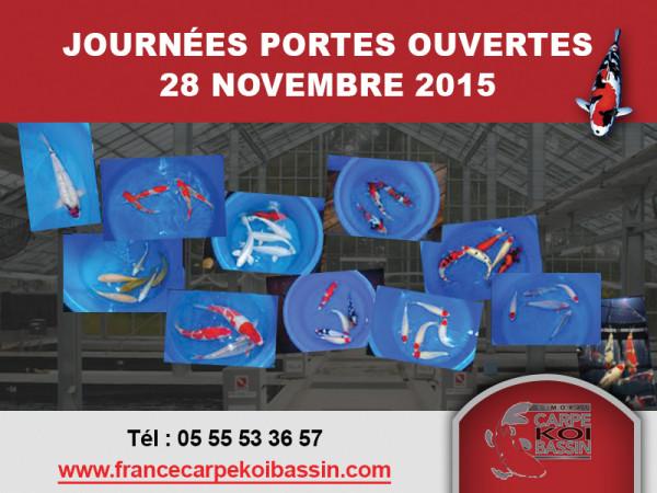 Journée Portes Ouvertes – le 28 novembre 2015 – 9h/18h