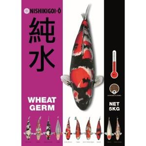 Nishikigoi O Wheat Germ Aliment pour Carpe Koi 5kg, aliment carpe koi, bassin.