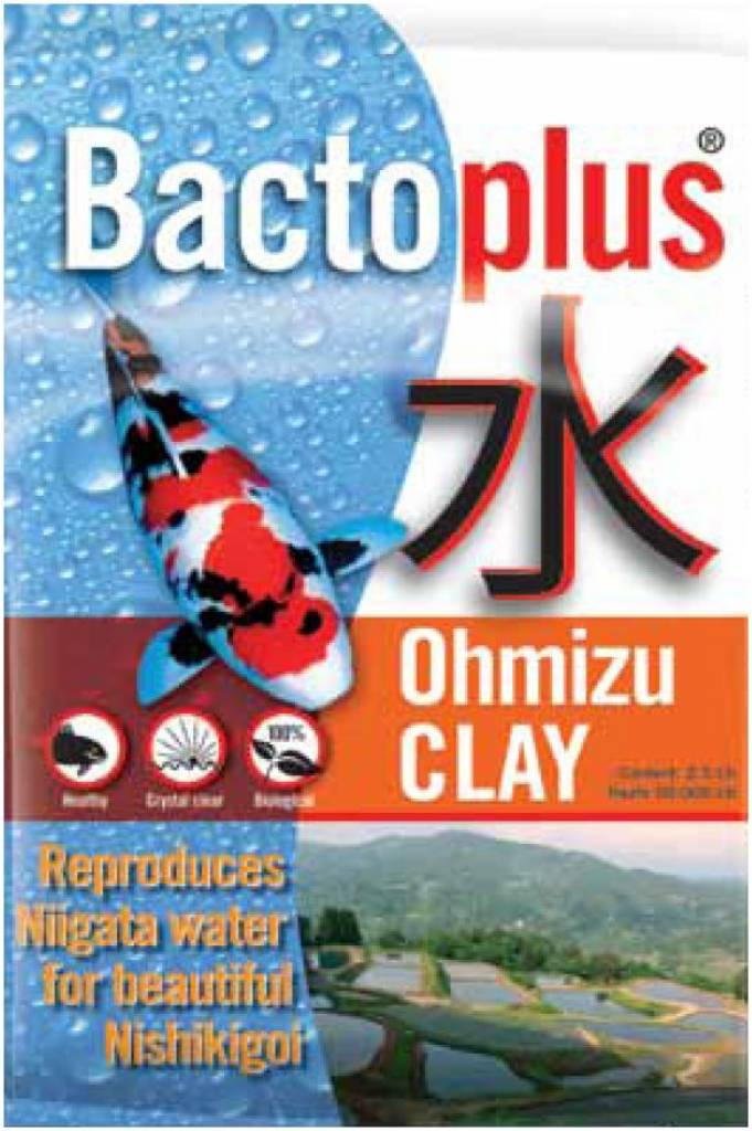 BACTOPLUS OHMIZU CLAY, bassin carpe koi, ouies, minéralité df0ce249c64a
