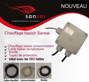 Chauffage basse consommation Sansai 1/6 M3 180 W