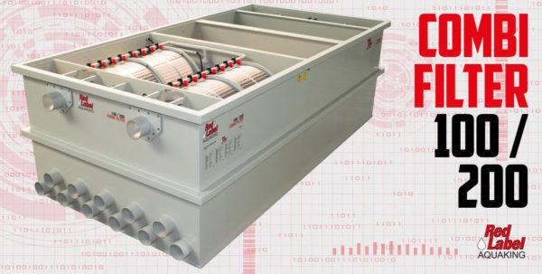 Filtre biologique tambour combi 100-200