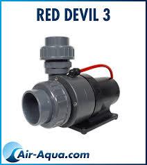 Pompe Red Devil 3 bassin