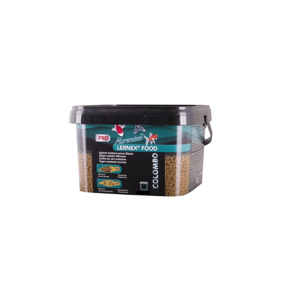 Aliment lernex anti parasite carpe koi for Nourriture pour carpe koi