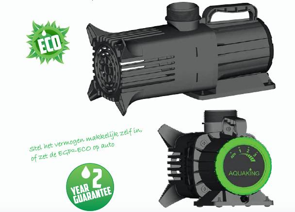 pompe Aquaking EGP-2 variateur, carpe koi, pompe bassin