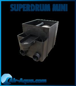 Superdrum-mini-air-aqua-bassin, filtration biologique. CARPE KOI