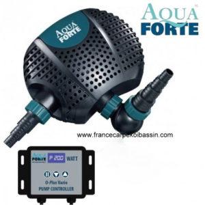 Pompe de bassin AquaForte O Plus Vario, pompe filtration,carpe koi