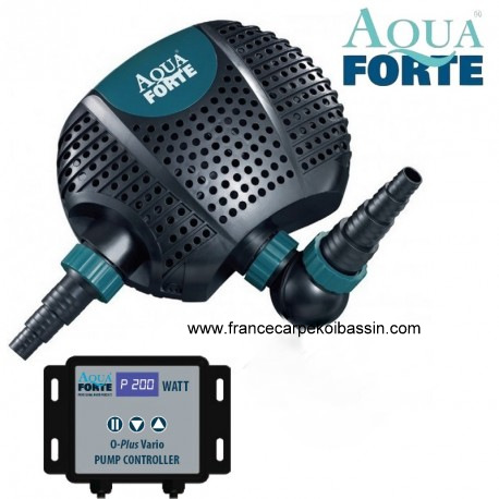 Pompe bassin aquaforte o plus vario for Pompe pour bassin poisson