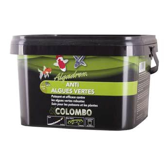 Algadrex anti eau verte Colombo, bassin carpe koi, algues filamenteuses