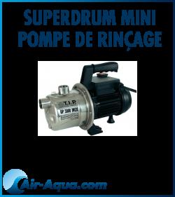 SuperDrum Mini Pompe de rinçage? FILTRE M2CANIQUE,FILTRE BIOLOGIQUE