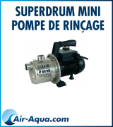 SuperDrum Mini Pompe de rinçage
