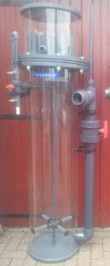 Réacteur d'ozone écumeur de protéineRéacteur d'ozone écumeur de protéine, bassin carpe koi