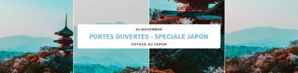 Portes Ouvertes Spéciales Japon – 24 Novembre
