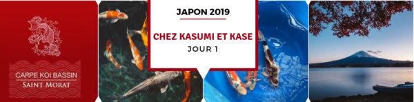 Le voyage au Japon débute – octobre 2019