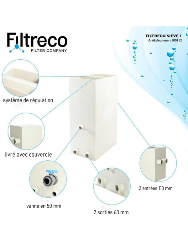 Filtre à grille FILTRECO 1