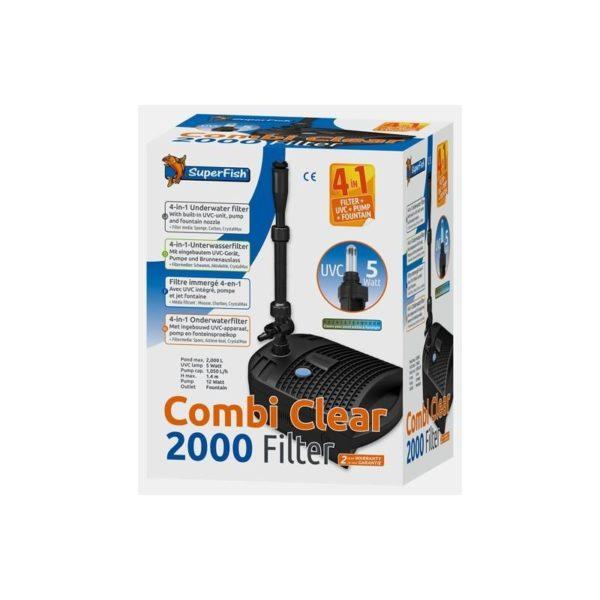 Superfish combi clear filtre