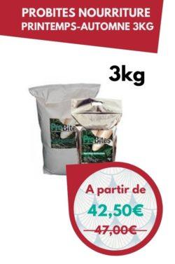 ProBites Nourriture printemps automne 3kg