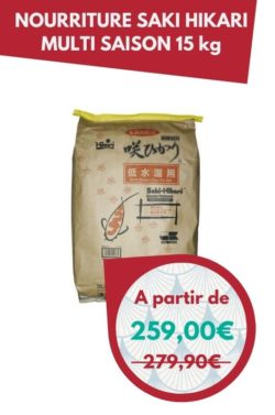 Nourriture Saki Hikari Multi season 15 kg