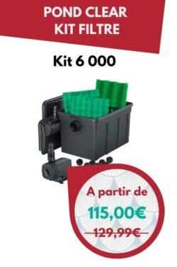 Pond Clear Kite filtre 6000